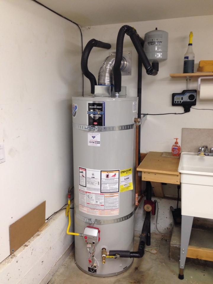 Auburn, CA - Water heat replacement. Auburn plumbing. Auburn