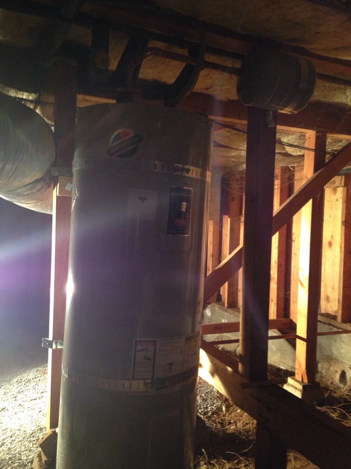 Foresthill, CA - Water heater install. Foresthill plumbing. Foresthill