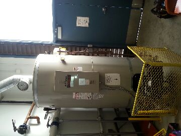 Plumbing Nevada City commercial. Troubleshoot existing 300 gallon natural gas water heater.
