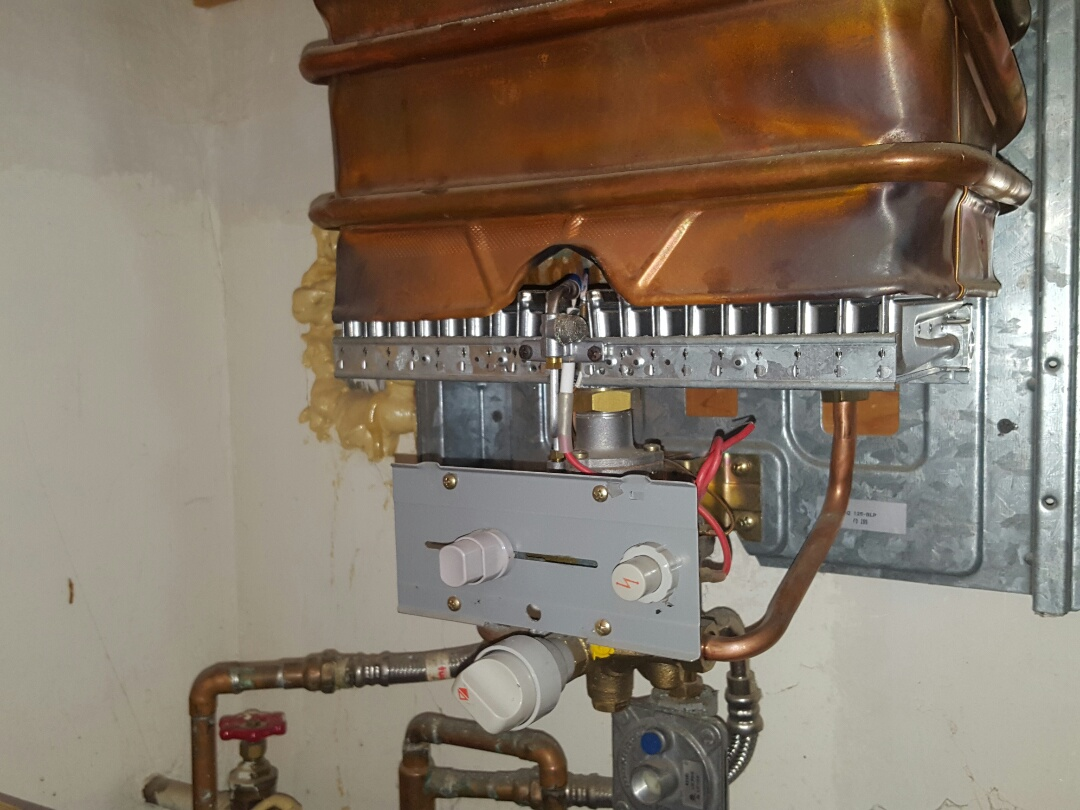Swimming pool troubleshoot existing tankless water heater