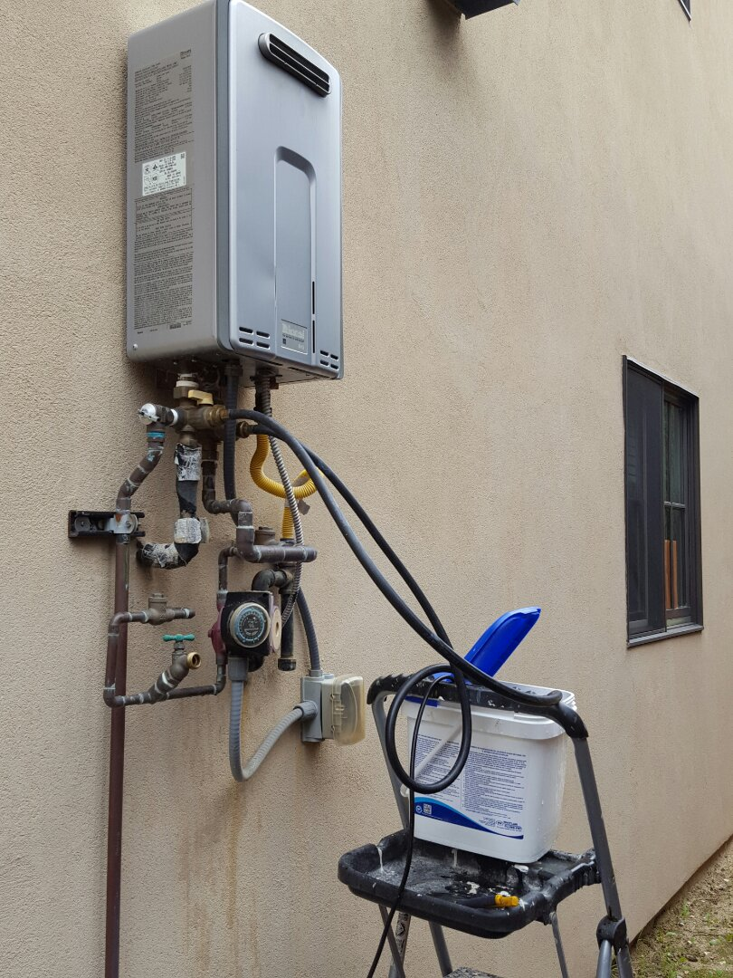 Granite Bay, CA - Plumbing Granite Bay service existing tankless water heater