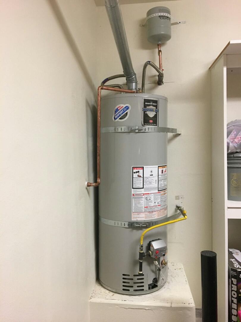 Penryn, CA - Plumbing roseville install 50 gallon natural gas water heater