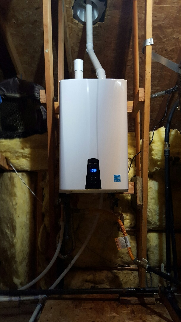 Granite Bay, CA - Granite bay navien 240s install