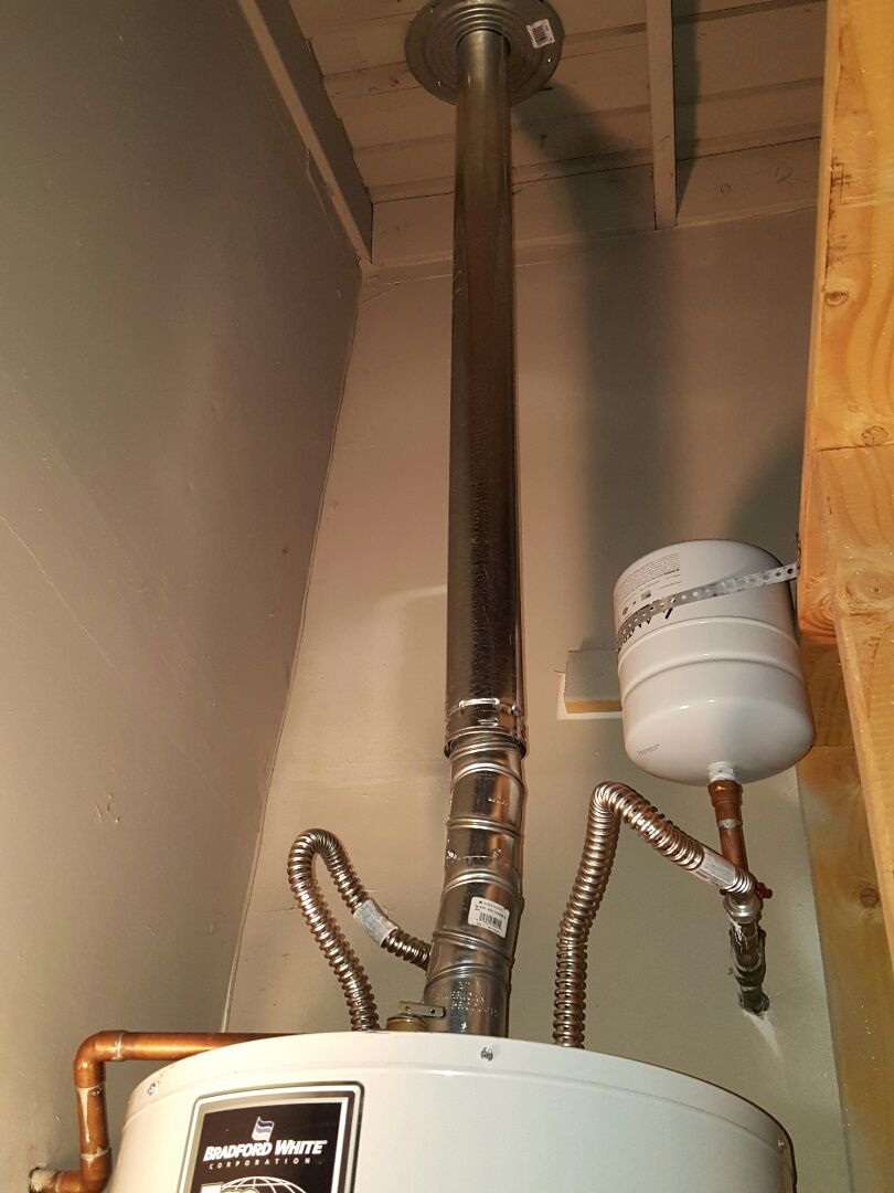 Granite Bay, CA - Plumbing Granite Bay repair exhaust existing water heater