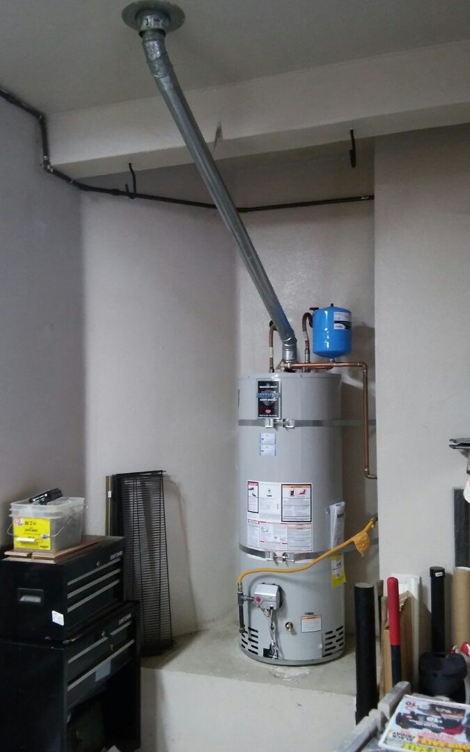 Lincoln, CA - Lincoln installed water heater