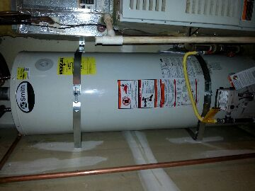 Davis, CA - Plumbing Davis. Davis plumbing. Repair water heater. Install new 50 gallon.