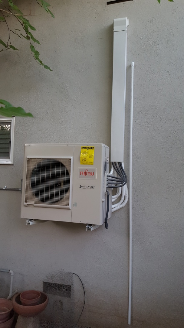 Sacramento, CA - Sacramento California AC heating service AC heating maintenance AC heating diagnostic AC heating install provide information to customer on options to heat and cool upstairs more efficiently making house more comfortable to live in options of zoning system and or ductless mini-split