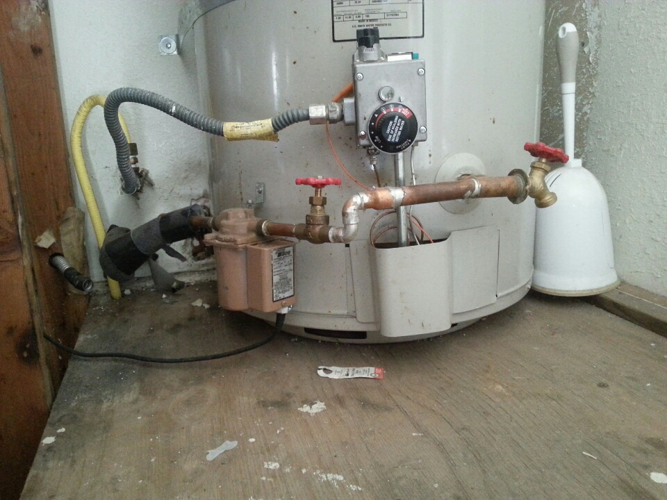 Roseville, CA - Plumbing Loomis. Loomis plumbing. Estimate accepted for new recirculating pump install.