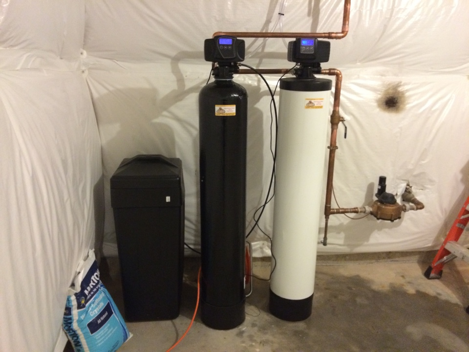 Elgin, IL - Completing whole house water conditioning and whole house water filter ration system