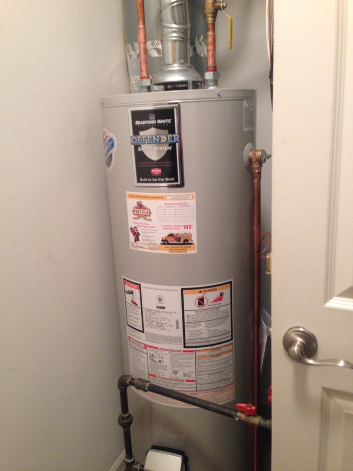Elgin, IL - Installing a new water heater!