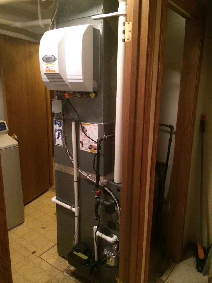 Lombard, IL - 96% furnace and A/C system