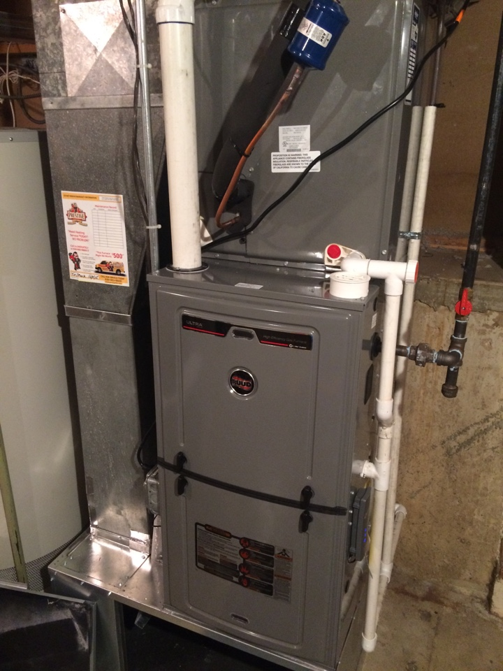 Downers Grove, IL - Installing new high performance furnace