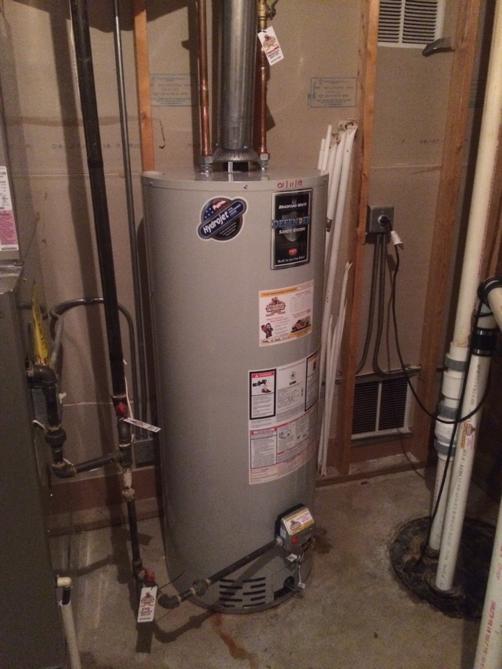 Aurora, IL - Installing 50 gallon Water Heater