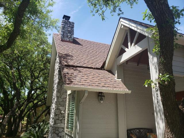 Georgetown, TX - Roof Replacement. Roof Inspection. Georgetown Texas. Insurance Replacement. Hail Damage. GAF Timberline HD Slate.