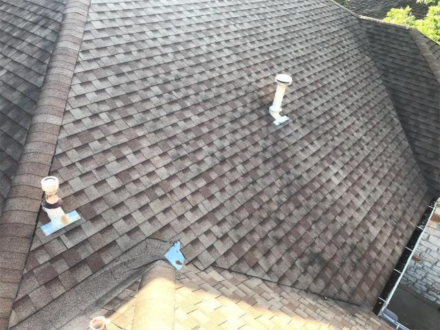 Austin, TX - Roof inspection possible replacement in Austin Texas. Homeowner wants insurance roof replacement and is looking for an Architectural roof and loves her GAF Master Elite roofing contractor.
