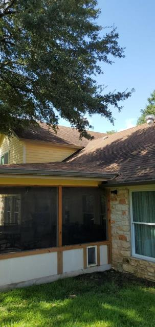 Round Rock, TX - General Free roof inspection in Round Rock Texas. Homeowner is wanting to replace current roof system. Looking for a GAF Architectural shingle in Weathered Wood.