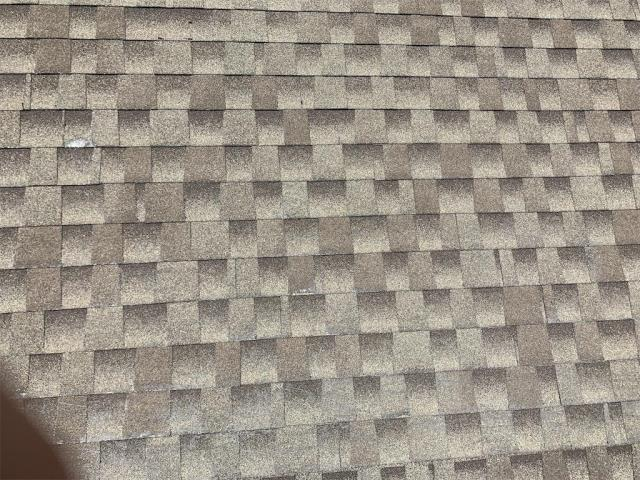Round Rock, TX - Roof inspection for hail damage in Round Rock Texas. Replacement recommended for homeowner.