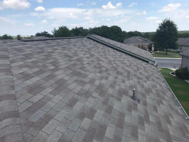 Georgetown, TX - Roof inspection in Sun City texas community in Georgetown Texas. Inspection of roof for local realtor helping a client. Recommendation delivered based on our findings.