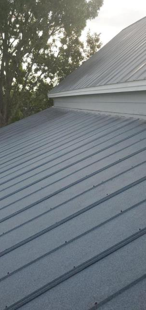 Georgetown, TX - Roof inspection in Georgetown Texas. Metal roof needed to  be inspected for homeowner peace of mind. Previous roofer did work and new homeowner wanted to be assured that the work was actually completed. Always looking to help where we can!
