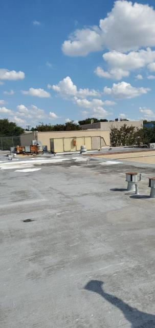 Austin, TX - Roof inspection in Austin Texas for a commercial building that is needing their roof replaced due to multiple active leaks and an aged roof system. We are proving a recommendation for a TPO roof replacement.