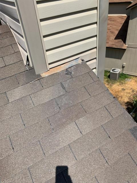 Round Rock, TX - Roof inspection in Round Rock Texas for possible damage from storm. Storm damage found and working with insurance for possible roof replacement claim.