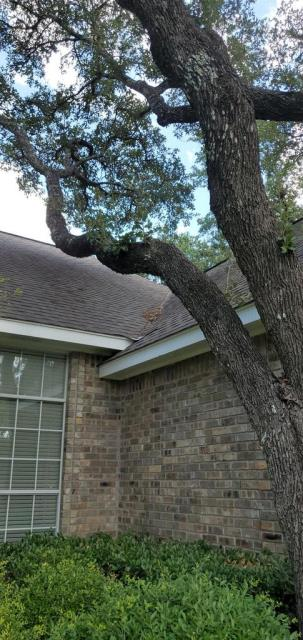 Georgetown, TX - Roof repair in Georgetown Texas. Repair recommended and provided to homeowner based on our findings on the roof. They are needing to get the leak fixed!