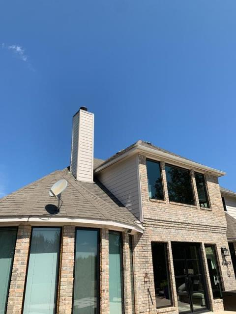 Austin, TX - Roof inspection in Austin near Steiner Ranch community. Roof claimed by insurance from hail damage. We are working with client to get them a new roof as soon as possible!
