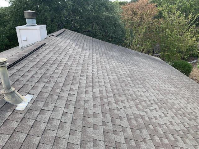Cedar Park, TX - Roof inspection for active leak in Cedar Park Texas. Leak determined to not be from roof, but from exhaust vent inside of house.