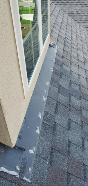 Leander, TX - Roof inspection in Leander Texas for possible flashing issue. Homeowner wants peace of mind that flashing is secured properly and will not leak.