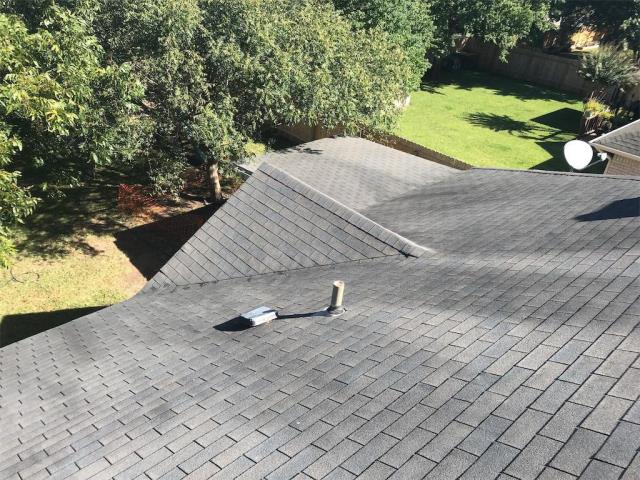 Georgetown, TX - Roof replacement in Georgetown Texas for insurance approved hail damage roof. We are installing a GAF Timberline Natural Shadow shingle with a Golden Pledge warranty for this homeowner!