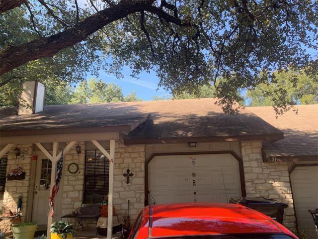 Georgetown, TX - Roof inspection repair in Georgetown Texas Serenada Neighborhood.