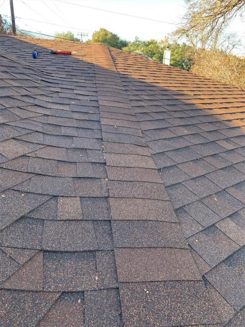 Georgetown, TX - Roof inspection for homeowner in Georgetown Texas who has an active leak in their home.