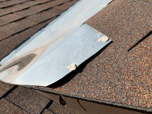Georgetown, TX - Roof repair complete in Georgetown Texas. Active leak fixed for client.