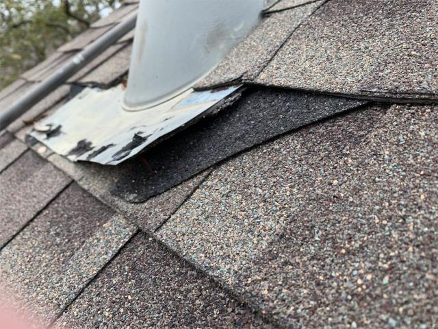 Georgetown, TX - Roof repair complete in Sun City Georgetown Texas. Active leak in dining room complete and no longer leaking.