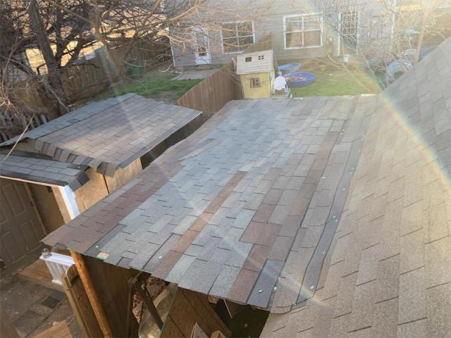 Round Rock, TX - Georgetown roofing company providing residential hail bid in Round Rock Texas. Residential client in need of roof inspection in Round Rock.
