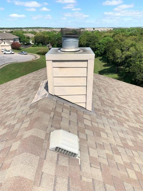 Leander, TX - Roofing companies in Leander Texas offering hail inspections. This roof was claimed for hail and our inspection helped her get the roof claimed by insurance company from hail damage.