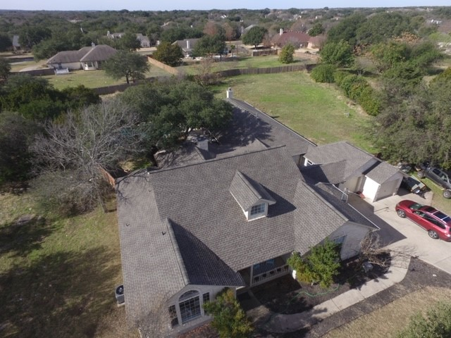 Georgetown, TX - Hail Damage replacement, GAF Natural Shadow Weathered Wood, Fountainwood Neighborhood