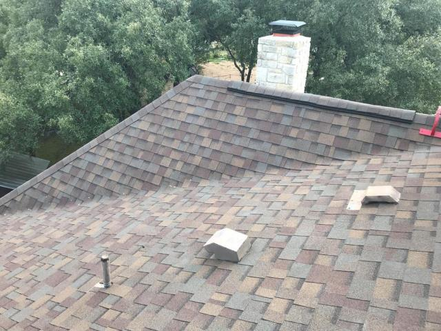 Liberty Hill, TX - Roof Replacement Owens Corning Teak