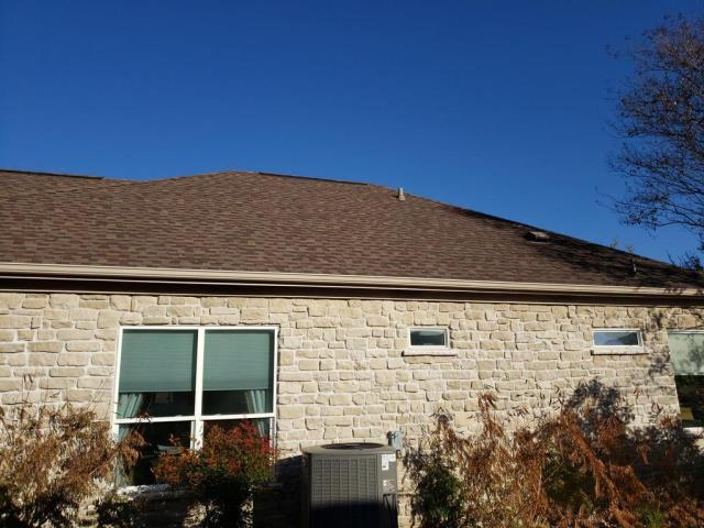 Georgetown, TX - Roof Replacement GAF Timberline HD Barkwood