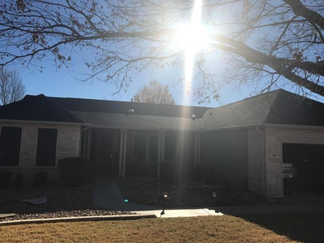 Georgetown, TX - Sun City Roof Replacement GAF Timberline HD Barkwood Golden Pledge