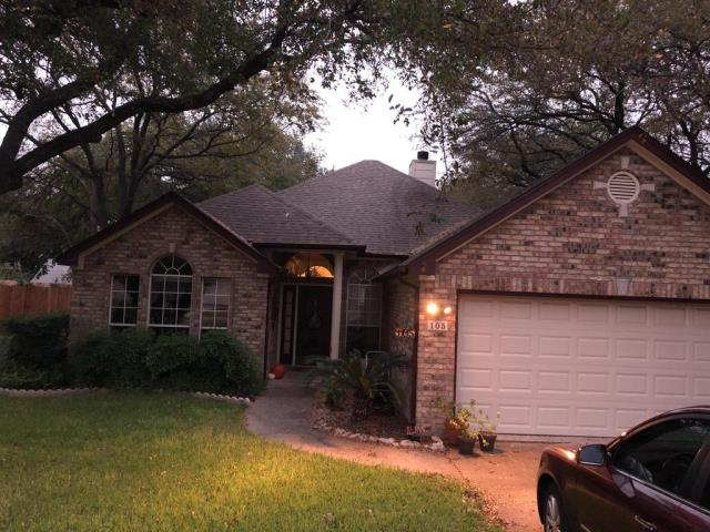 Georgetown, TX - Roof Replacement Georgetown Texas GAF Golden Pledge Architectural Timberline HD Barkwood