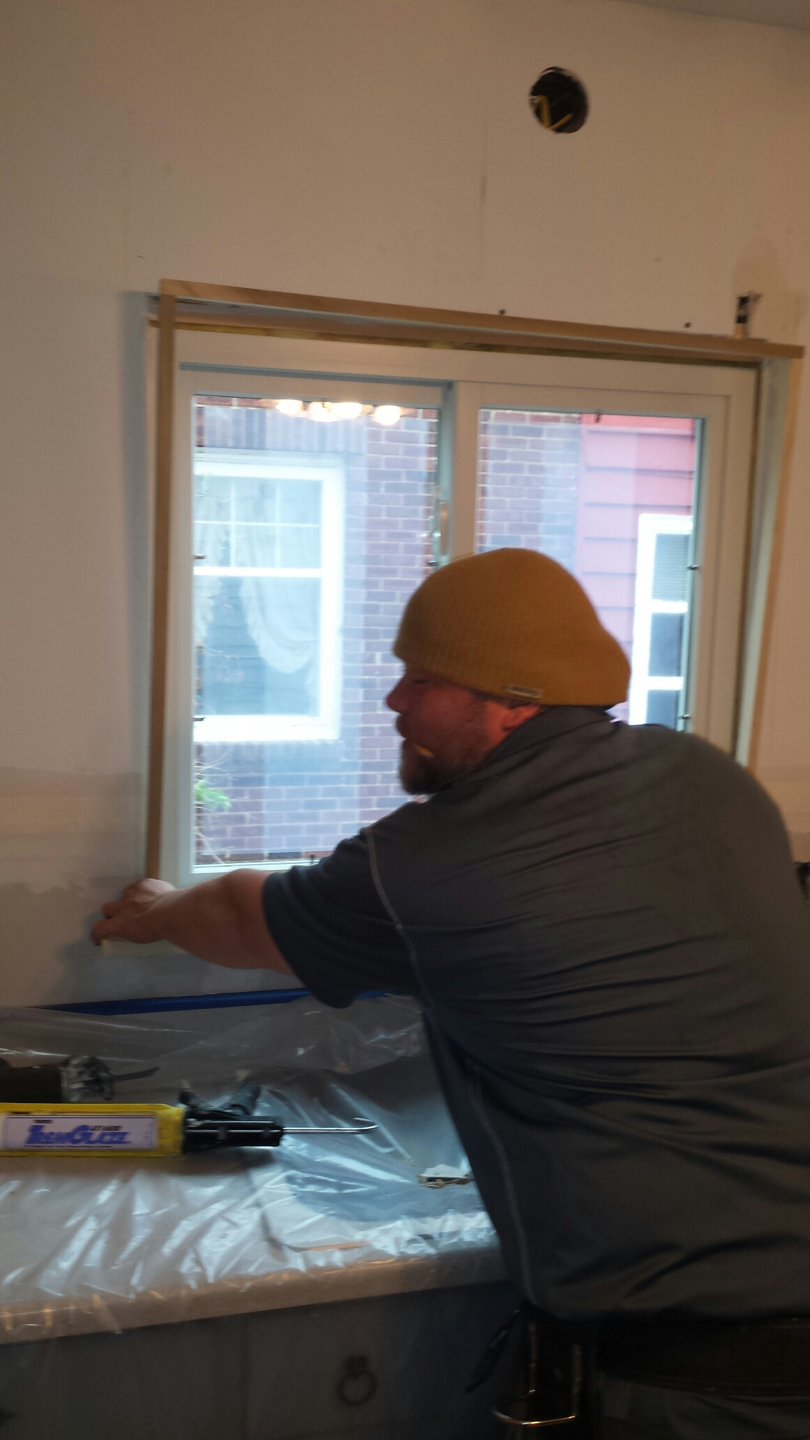 Akron, OH - Installing a beautiful glider window in Akron..Renewal by Andersen