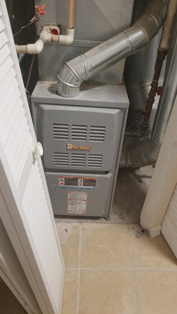 Homewood, IL - Perfom maintenance on (1) Ducan 80% gas forced air furnace