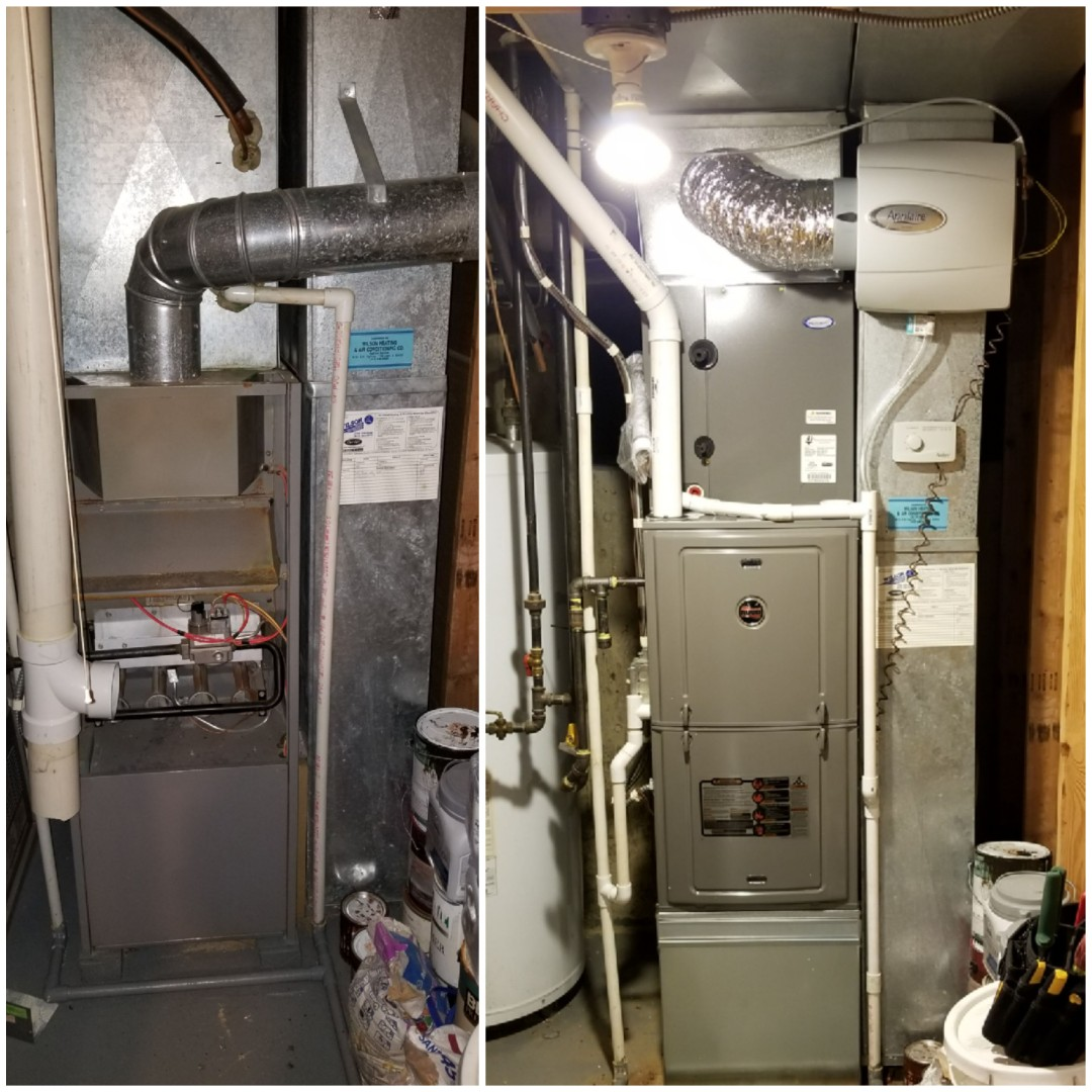 Merrillville, IN - Maintenance of Ruud gas furnace