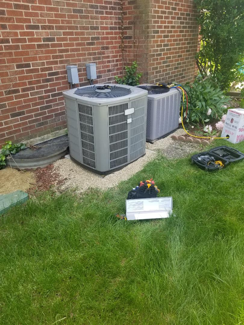 Tinley Park, IL - Airconditioning installation