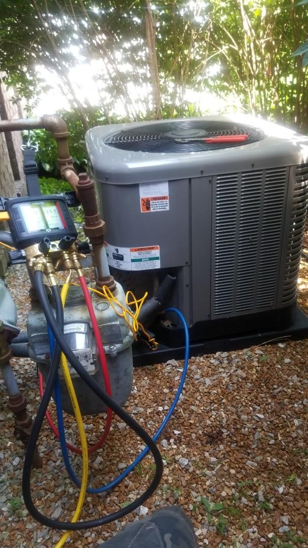 Valparaiso, IN - Install Rheem Airconditioner