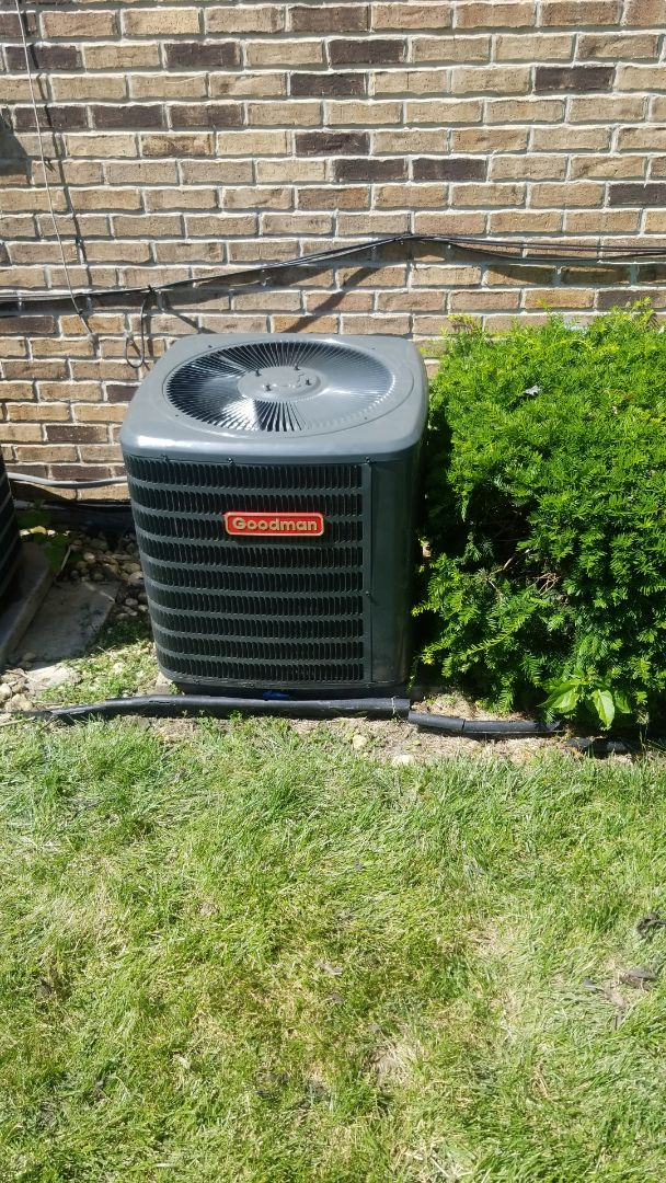 Homewood, IL - Install airconditioning unit