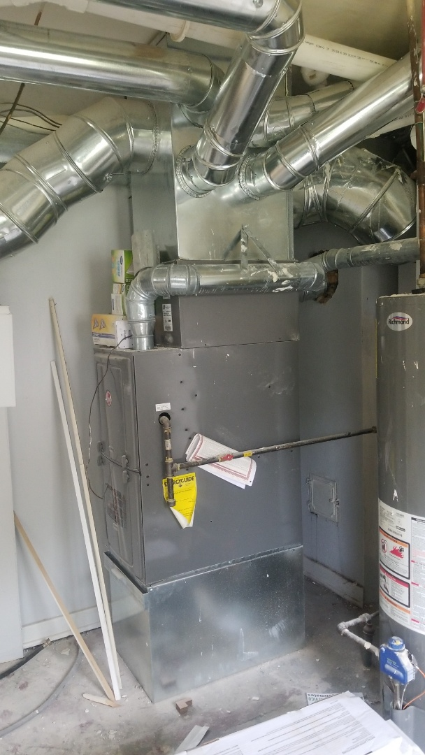 Valparaiso, IN - Clean & check on Rheem furnace