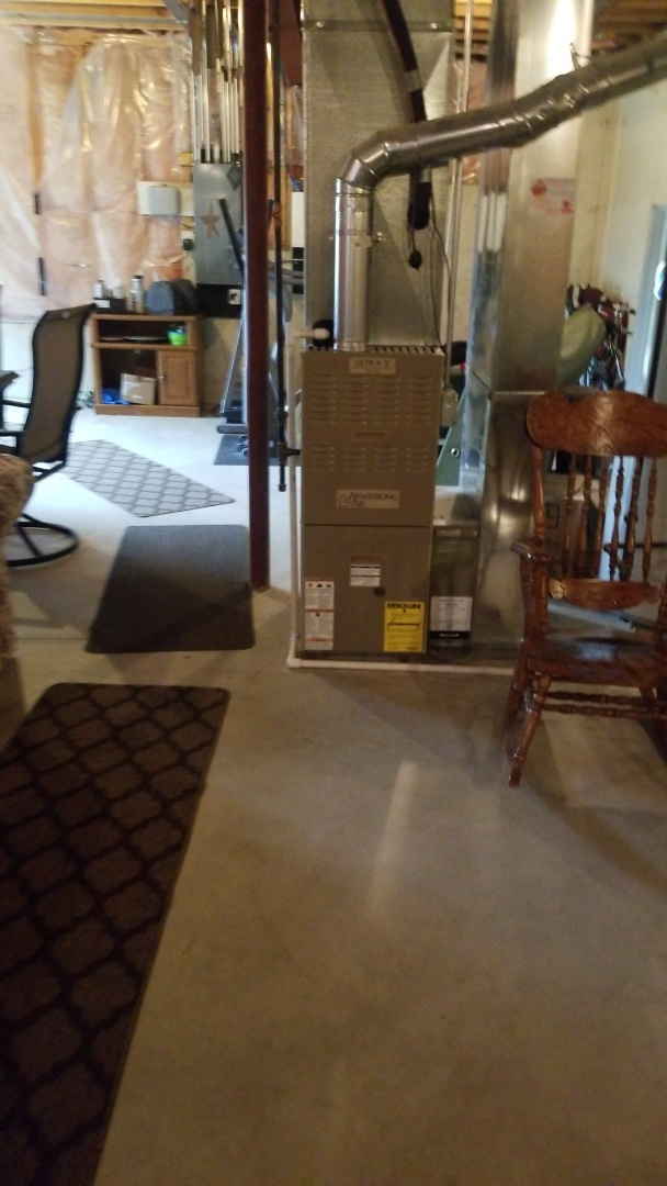 Lynwood, IL - Clean and check furnace