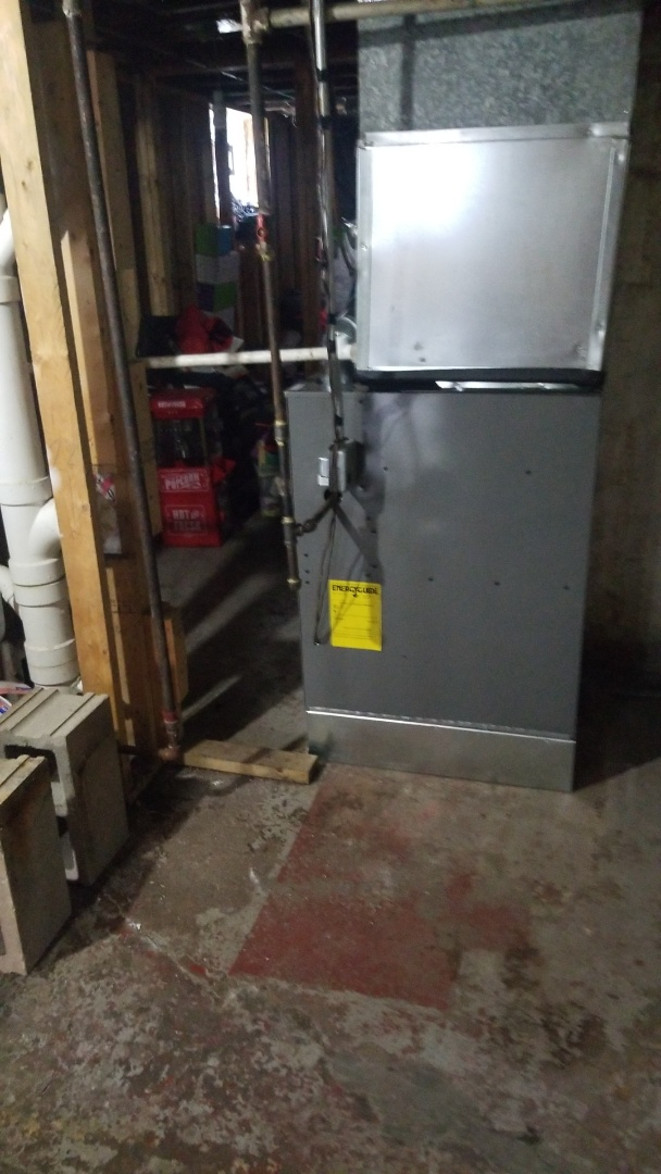 Calumet City, IL - Install new furnace
